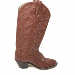 6cb693a6acf1 Acme Shoes - Women s VINTAGE Acme Western Boots Cowboy Size 6M